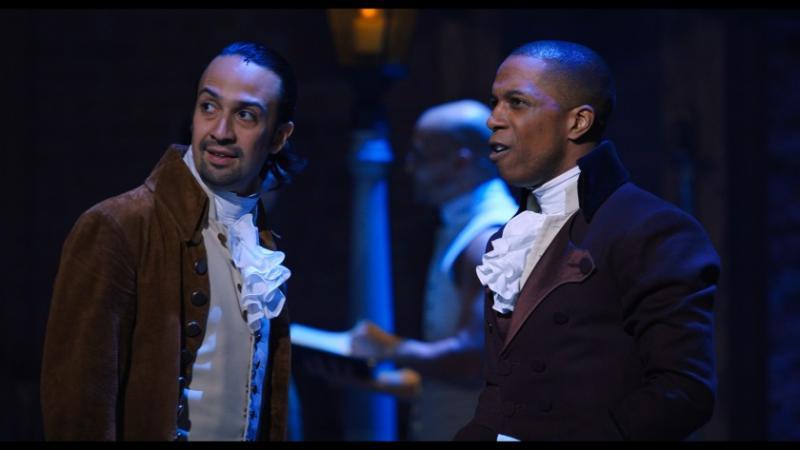 Hamilton: Lin-Manuel Miranda als Alexander Hamilton en Leslie Odom Jr. als Aaron Burr