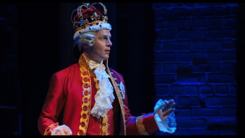 Hamilton: Jonathan Groff als King George III