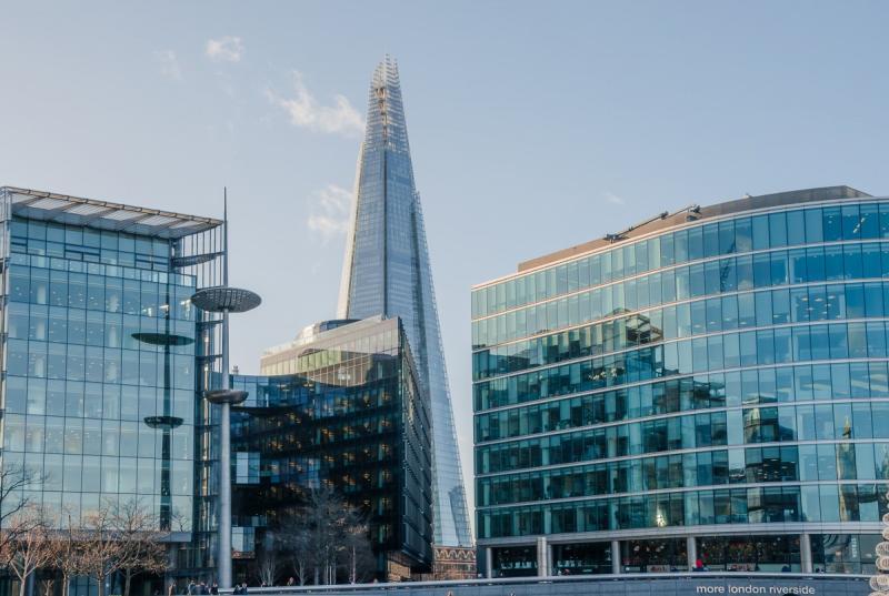 The Shard, met 310 meter in 2012 destijds het hoogste gebouw in Europa (Foto: pxhere)