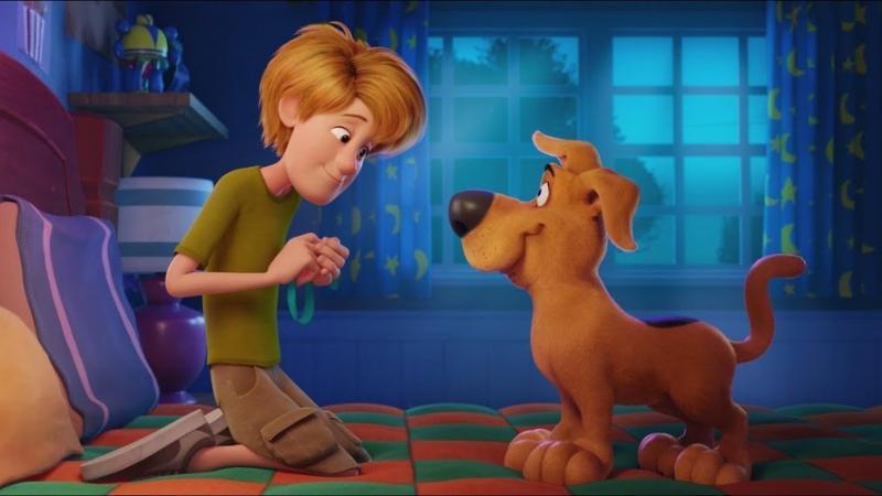 Jonge Scooby Doo en Shaggy