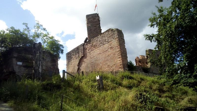 Ruine in Duitsland (Foto: qltel)