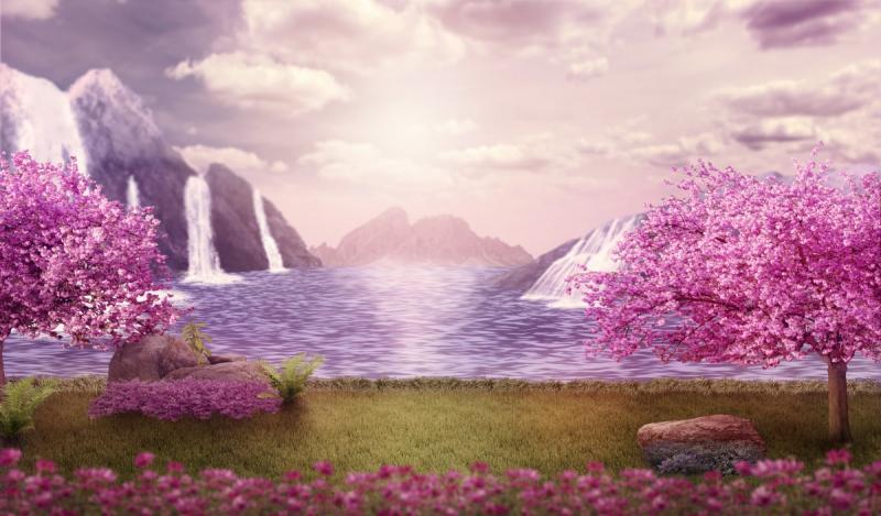 Een sprookjesmeer, waar verhalen voortvloeien. (Foto: Pxhere)