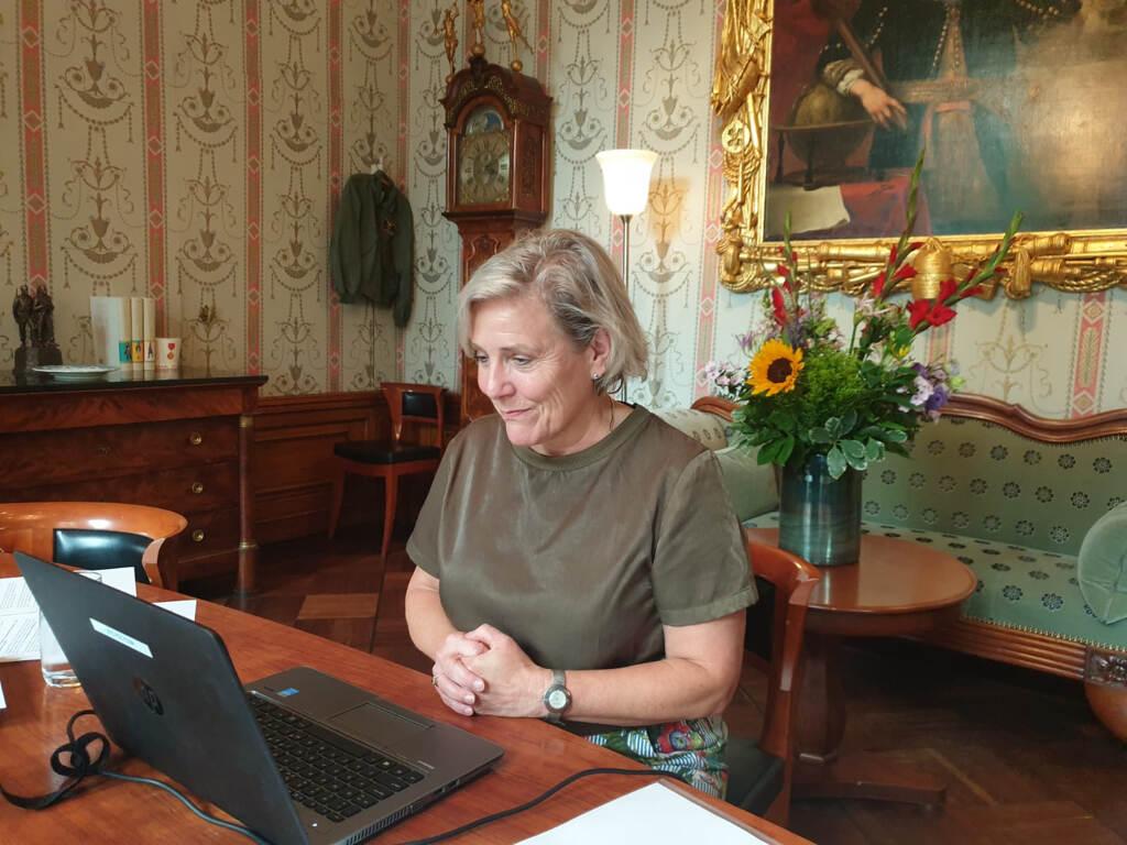 Minister Bijleveld (foto: Ministerie van Defensie)