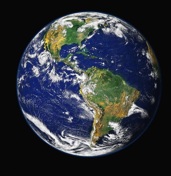 De aarde, waar het druk is (Foto: Pixabay)