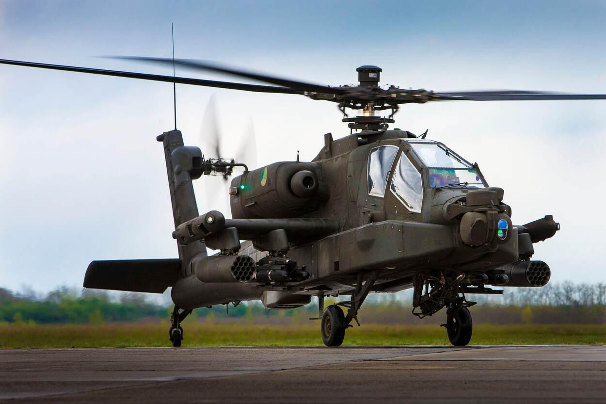 Apache (foto: Ministerie van Defensie)
