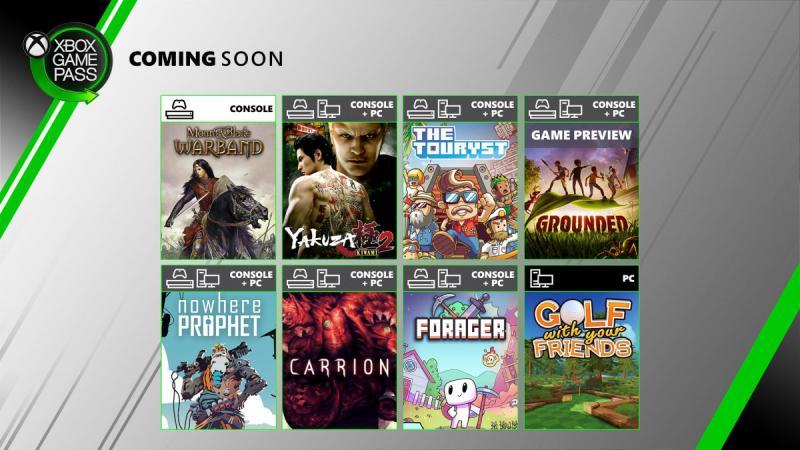 Xbox Game Pass juli 2020
