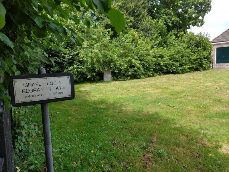 Westerborkpad - Etappe 24 (De oude Joodse begraafplaats) (Foto: FOK!/Isabeau)