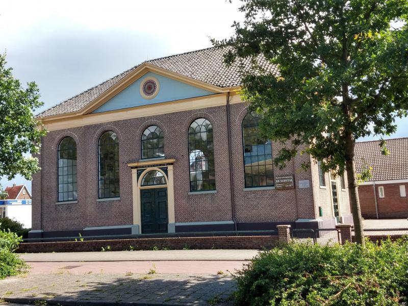 Westerborkpad - Etappe 24 (Voormalige synagoge) (Foto: FOK!/Isabeau)