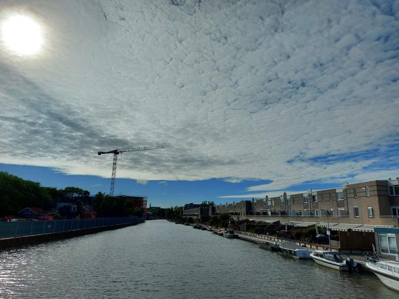 Prachtige lucht boven Purmerend (Foto: Pukeko)