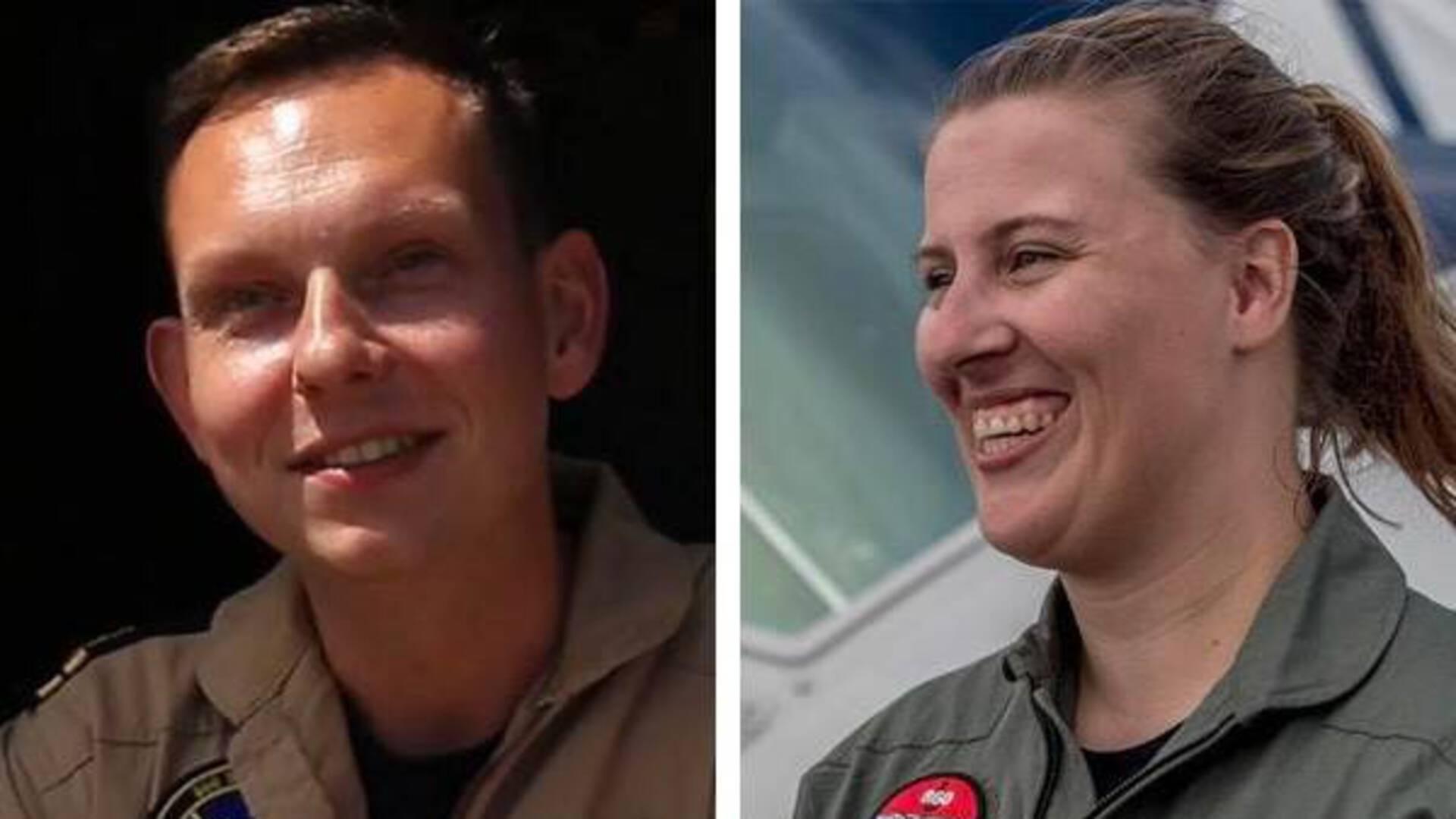 Erwin Warnies en Christine Martens (Foto: Ministerie van Defensie)