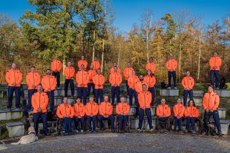 Nederlandse deelnemers aan de Invictus Games 2020 (Afbeelding: Defensie)
