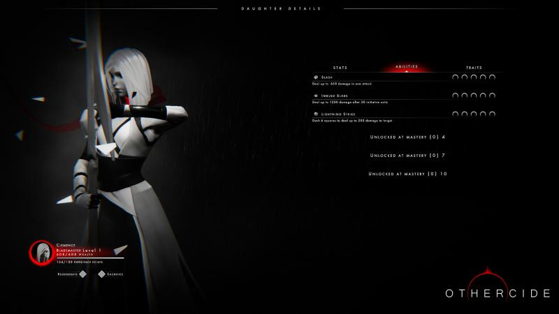 Othercide - Stats (Foto: Focus Home Interactive)