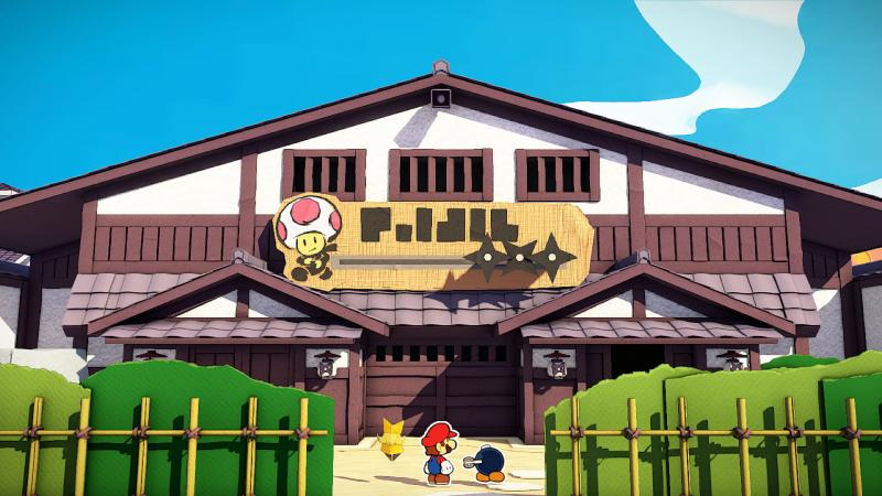 Paper Mario The Origami King Shogun Studios