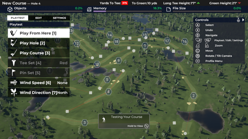 PGA TOUR 2K21 - Course Editor (Foto: 2K Games)