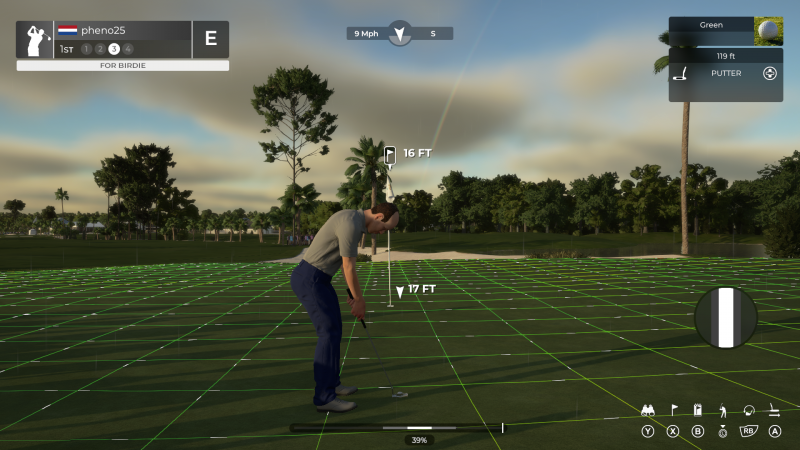 PGA TOUR 2K21 - Putting (Foto: 2K Games)