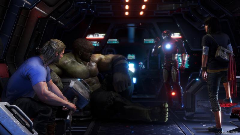 Marvel's Avengers - Loading screen (Foto: Square Enix)