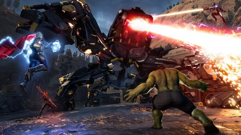 Marvel's Avengers - Warbot (Foto: Square Enix)