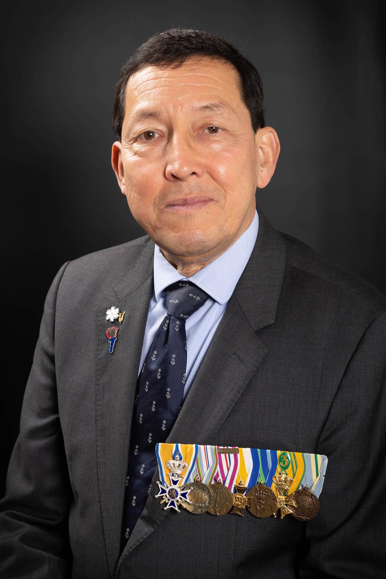 Kapitein-ter-zee b.d. Frank Marcus (64). Foto: eigen archief.