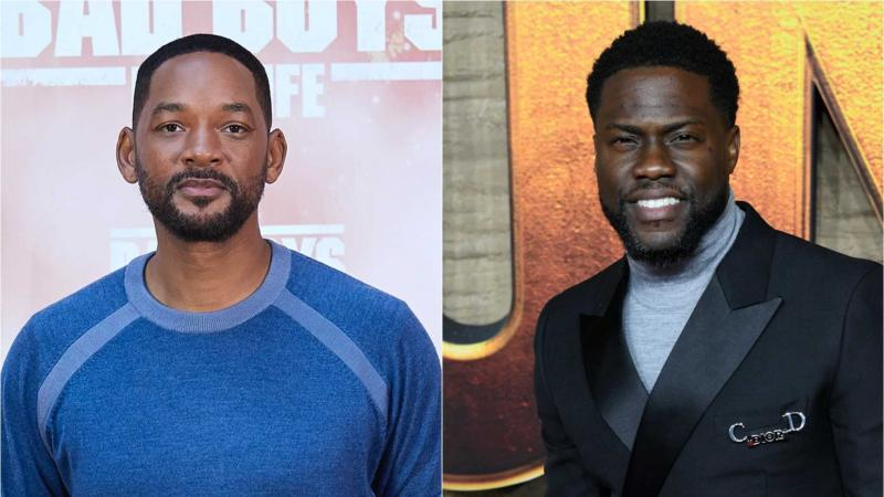 Will Smith en Kevin Hart