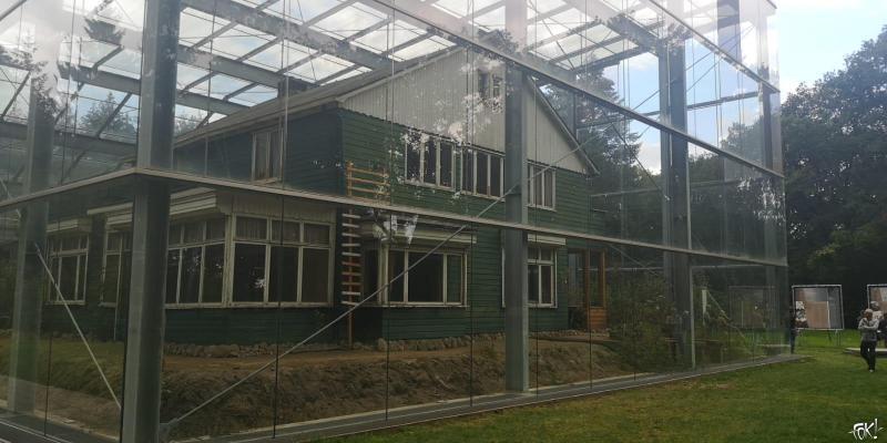 De voormalige ambtswoning van kampcommandant Gemmeker in Kamp Westerbork (Foto: FOK!)