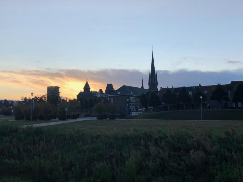 Sittard om 07.30 (Foto: Charged)