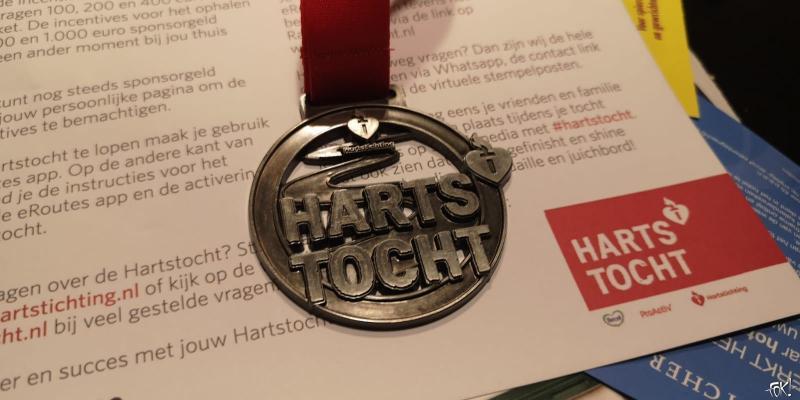 Hartstocht medaille  (Foto: DJMO)