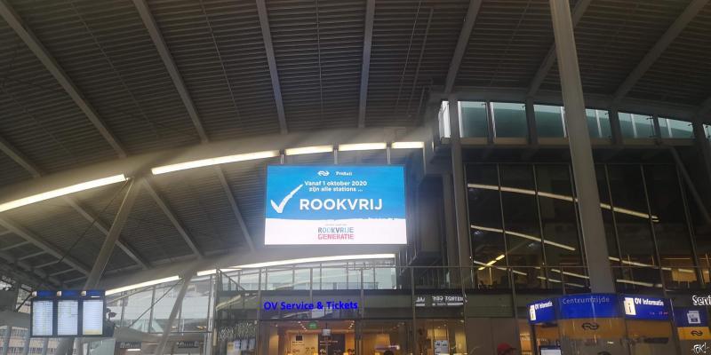Stations rookvrij (Foto: FOK!)