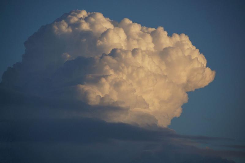 Buienwolken in Zeeland (Foto: Scherpschutter)