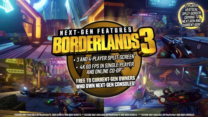 borderlands 3 next  gen