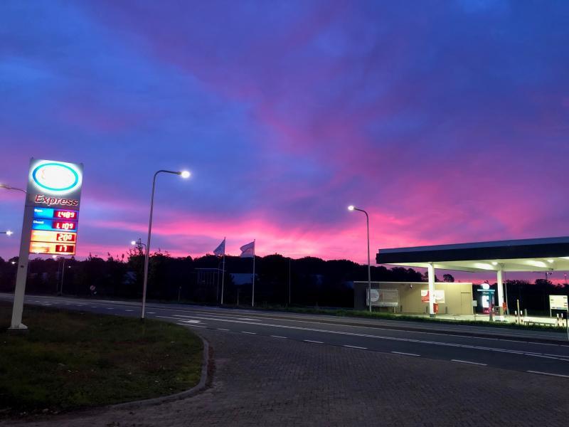 Deze is van vanochtend in De Bilt rond 8.00 thv N237 (Foto: Charged)