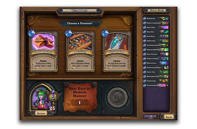 Hearthstone Duels Treasures