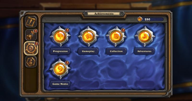 Hearthstone achievements