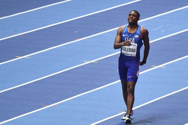 Wereldkampioen 100 meter Coleman geschorst (WikiCommons/Erik van Leeuwen)