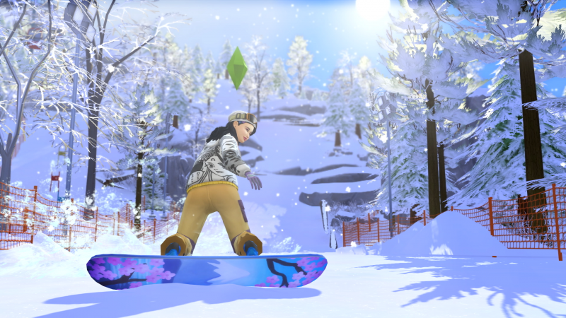 De Sims 4 Sneeuwpret (Foto: Electronic Arts)