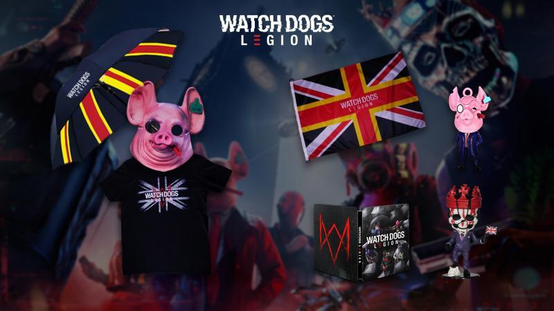 Watch Dogs: Legion - Goodie pakket (Foto: Ubisoft)