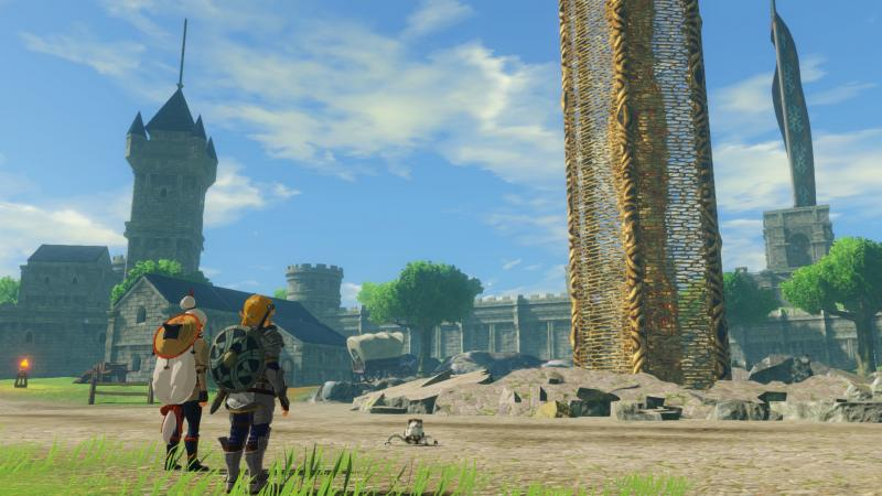 Hyrule Warriors: Age of Calamity - Scene (Foto: Nintendo)
