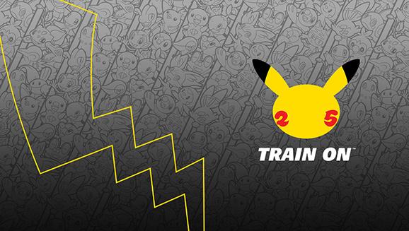 Pokemon 25-jarig jubileum logo