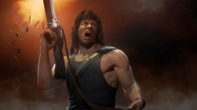 Mortal Kombat 11 Ultimate - Rambo (Foto: Warner Bros.)