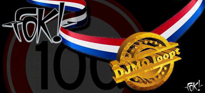 DJMO en 100 kilometer voor FOK!  (Foto: FOK! )
