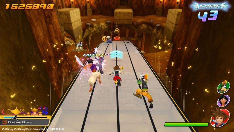 Kingdom Hearts: Memory of Melody - Alladin (Foto: Square Enix)