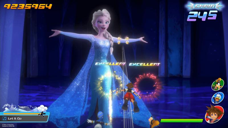 Kingdom Hearts: Memory of Melody - Frozen (Foto: Square Enix)