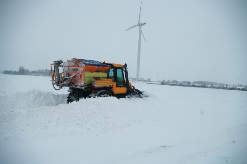 Sneeuw!  (Foto: Fok!.nl)