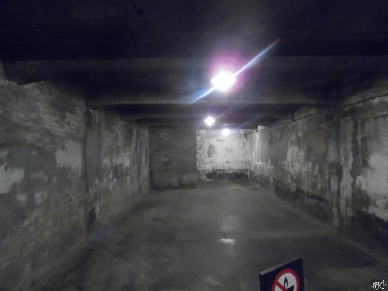 De gaskamer (Foto: Anoniem )