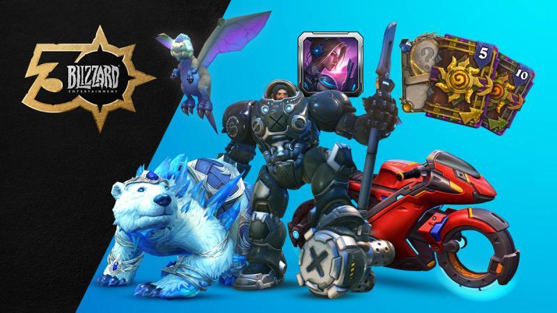 Blizzard 30 anniversary goodies