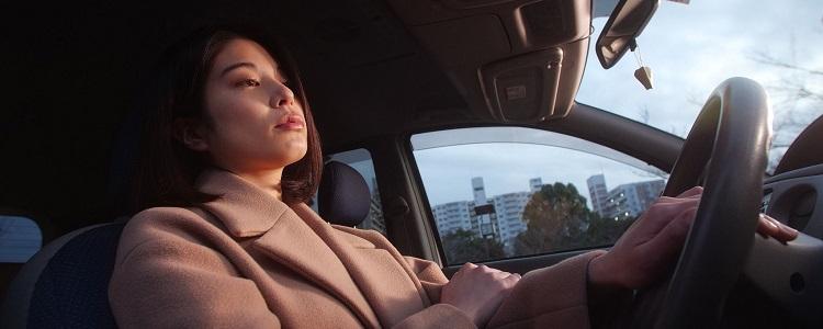 Sexual Drive vrouw in auto