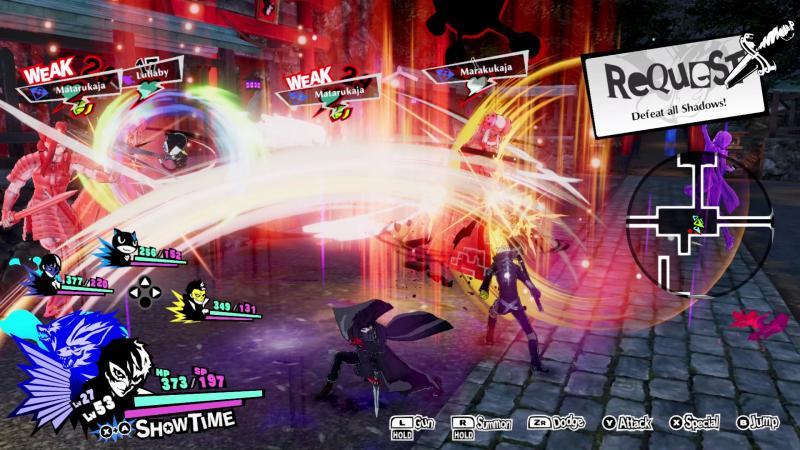 Persona 5 Strikers - Battle (Foto: Atlus)