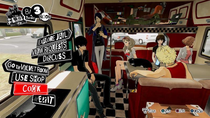 Persona 5 Strikers - Camper (Foto: Atlus)