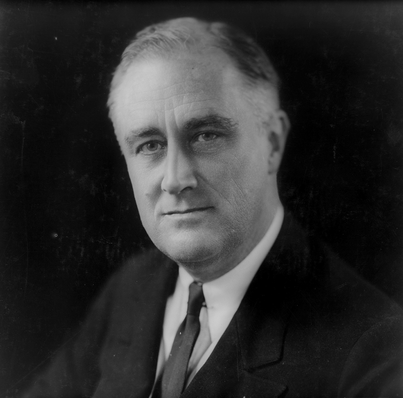 Franklin D. Roosevelt (WikiCommins/Library of Congress)