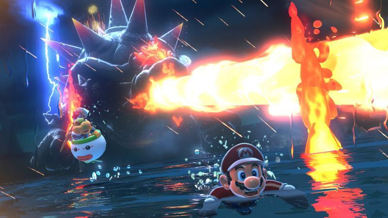 Super Mario 3D World & Bowser's Fury - Bowser attacks (Foto: Nintendo)