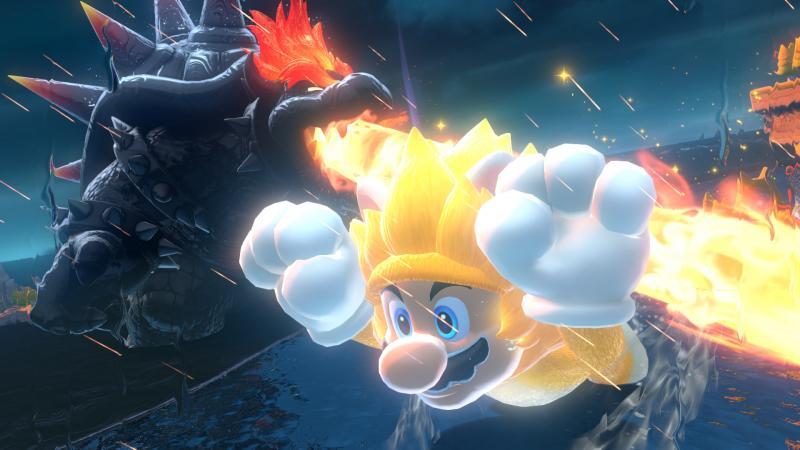 Super Mario 3D World & Bowser's Fury - Mega Mario Cat (Foto: Nintendo)